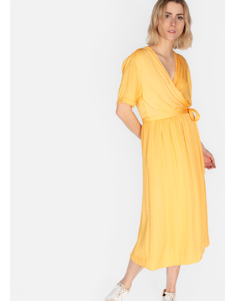 SCOTCH & SODA Midi length wrapover dress