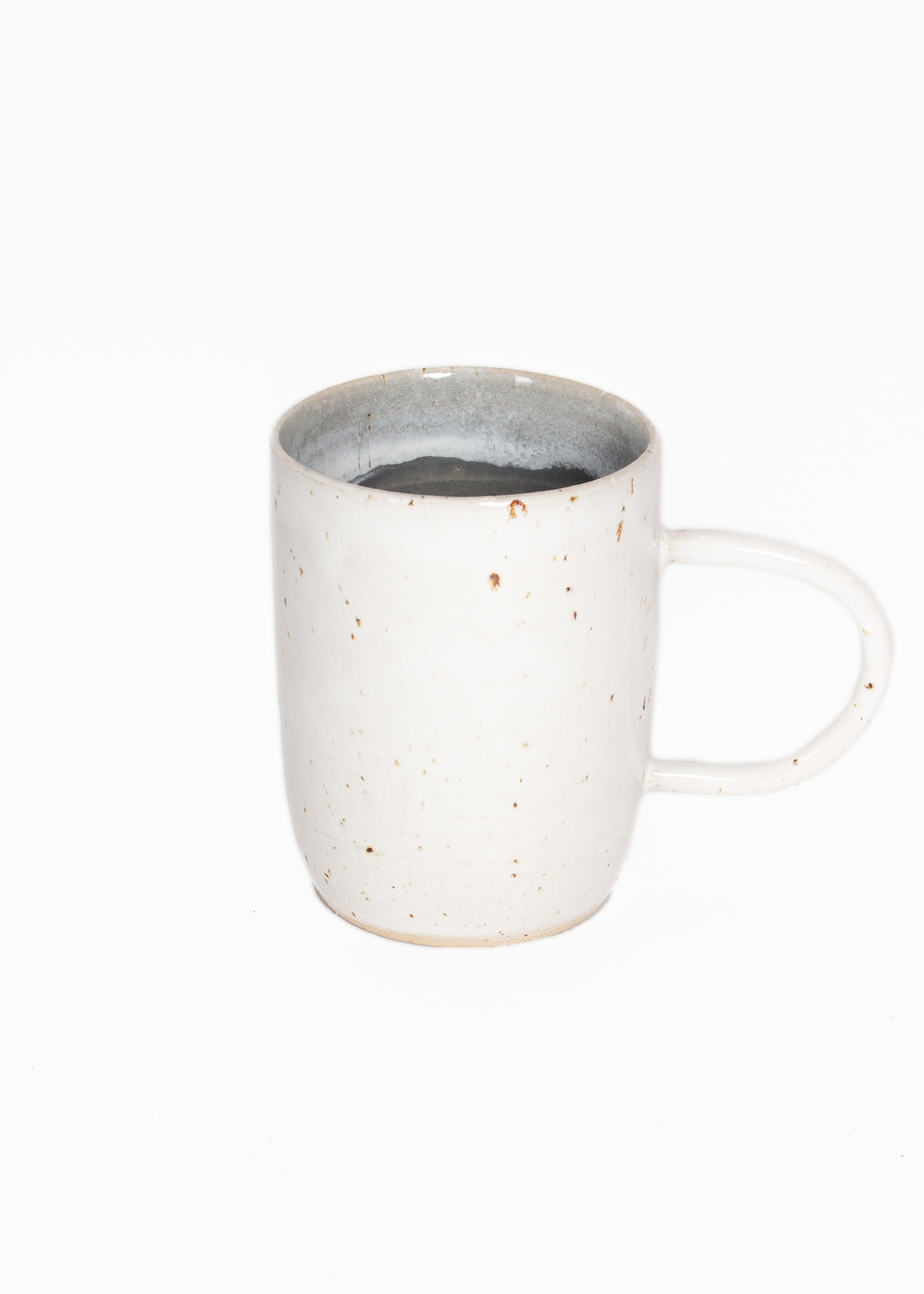 Tasjap Cup with handle grey