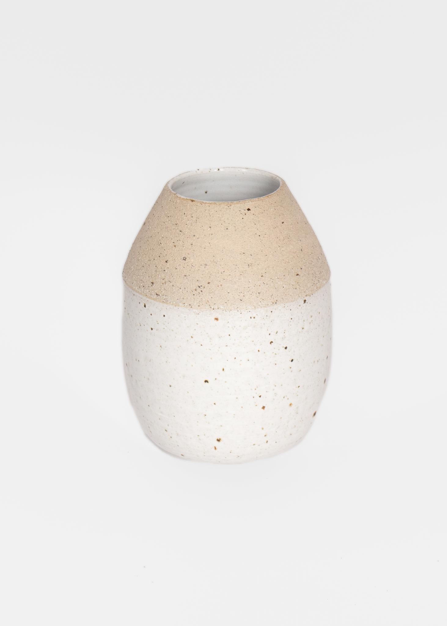 Tasjap Small vase with white bottom