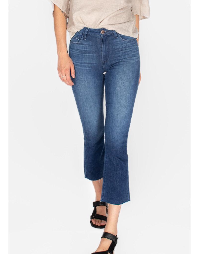 PAIGE Colette crop flare stockholm jeans