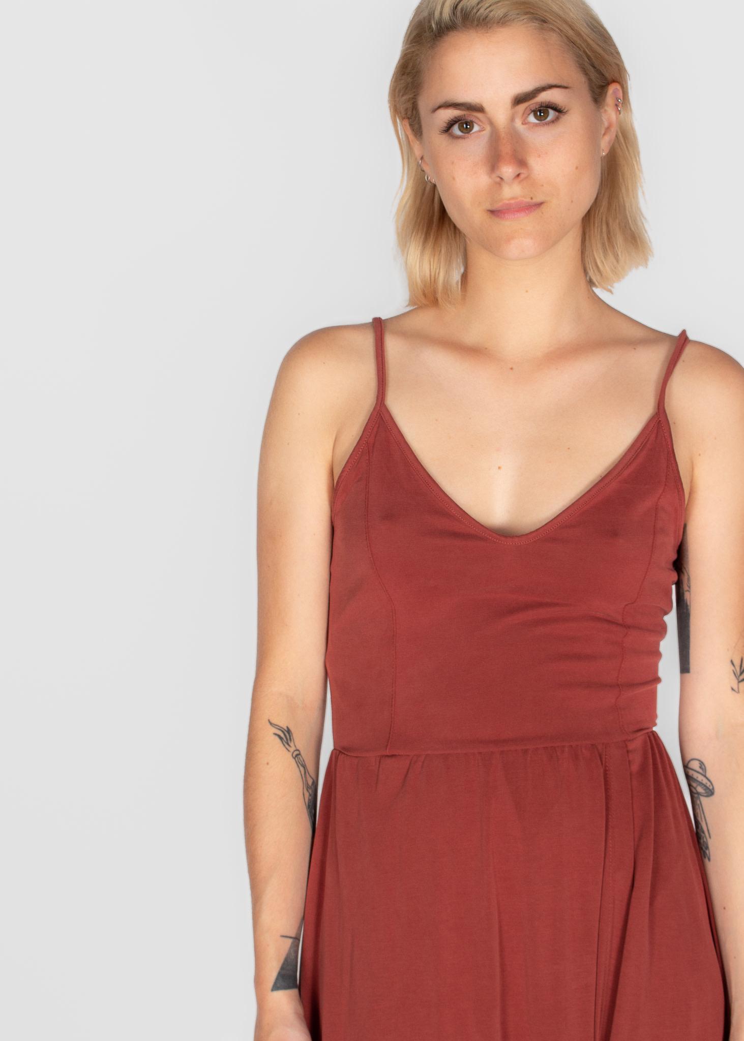 SOAKED IN LUXURY NEFRET DRESS