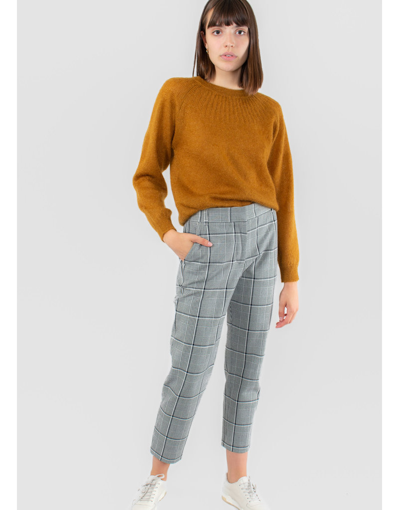VELVET Brenley plaid pants