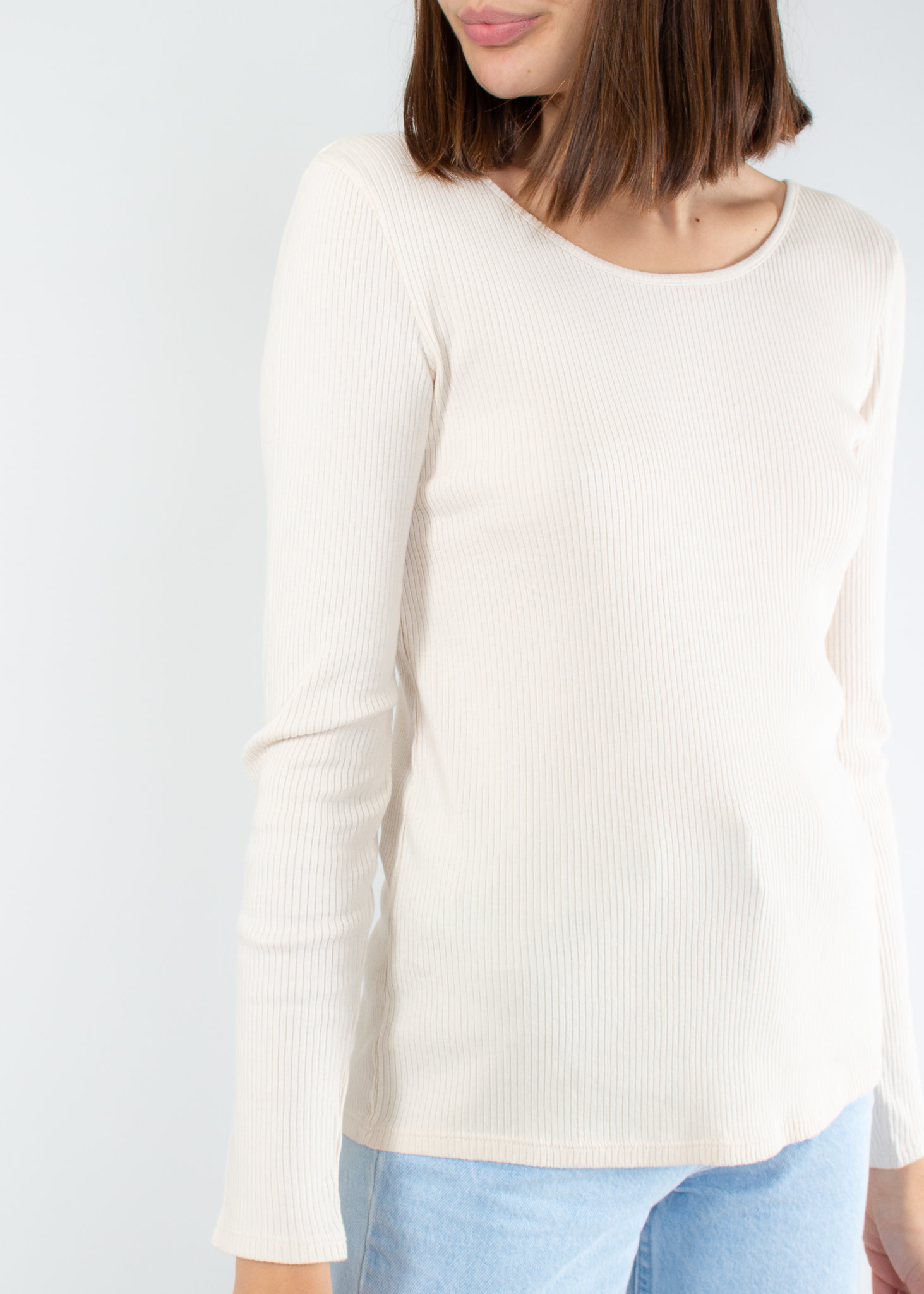YERSE Long sleeve t-shirt with round neck