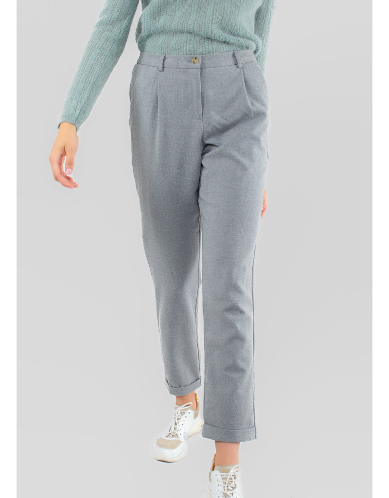 YERSE Darted long trousers