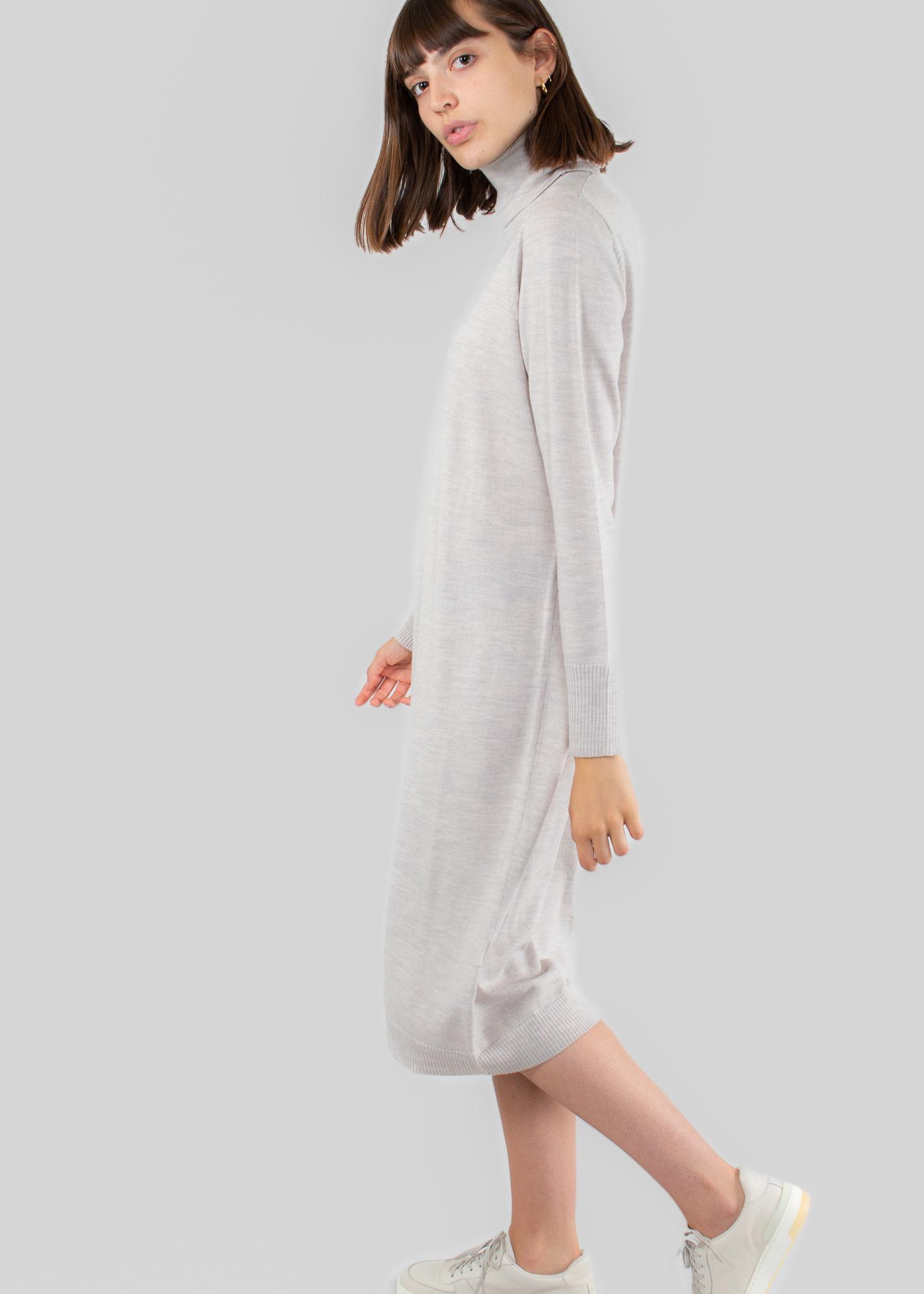 REPEAT 300140 - Robe laine mérino