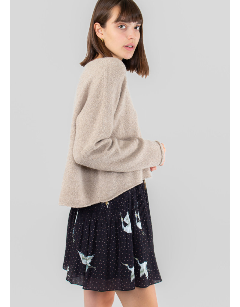 YAYA Plisse skirt