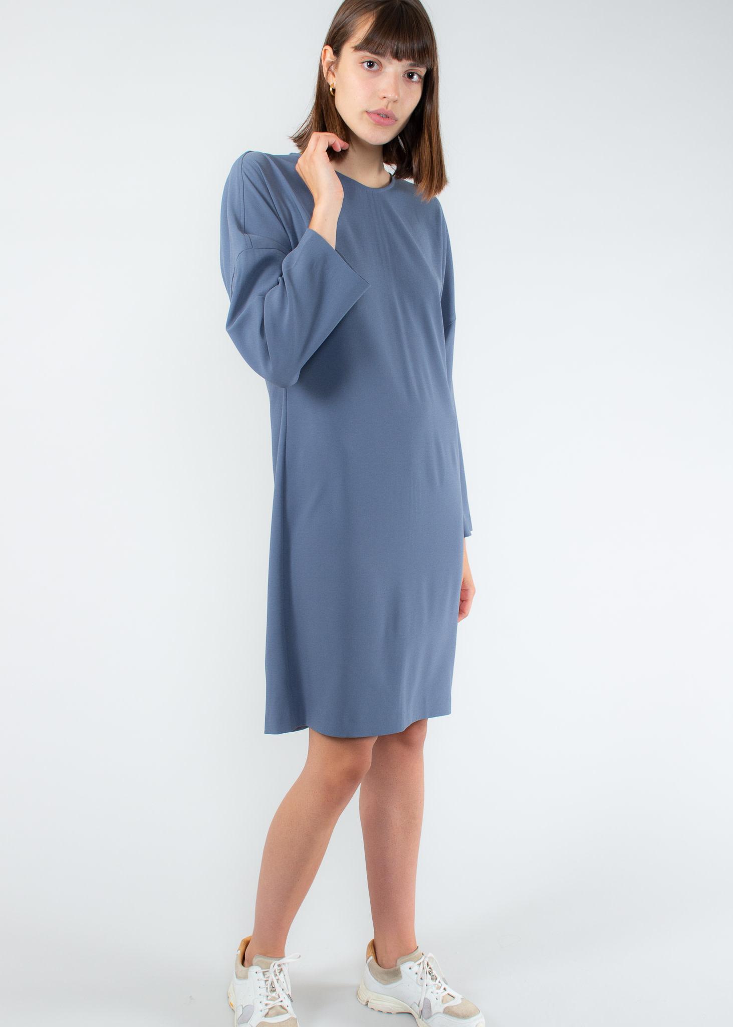 Filippa K Meghan Dress blue grey