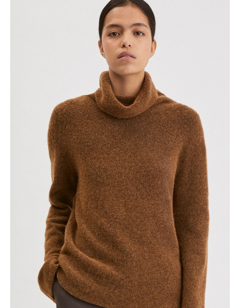 Filippa K Nico Yak Sweater hazelnut