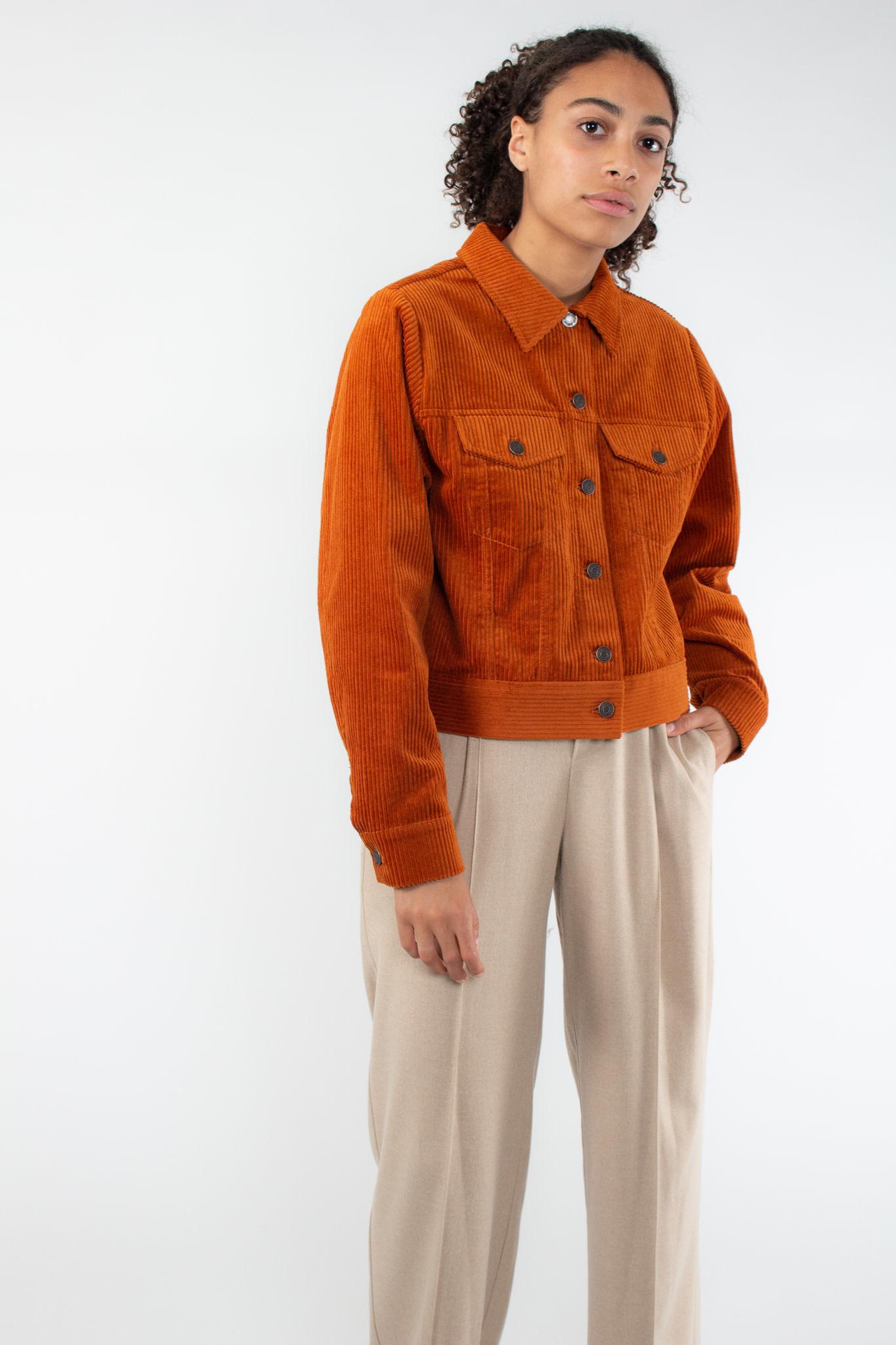 IN WEAR Jazlyn jacket rust