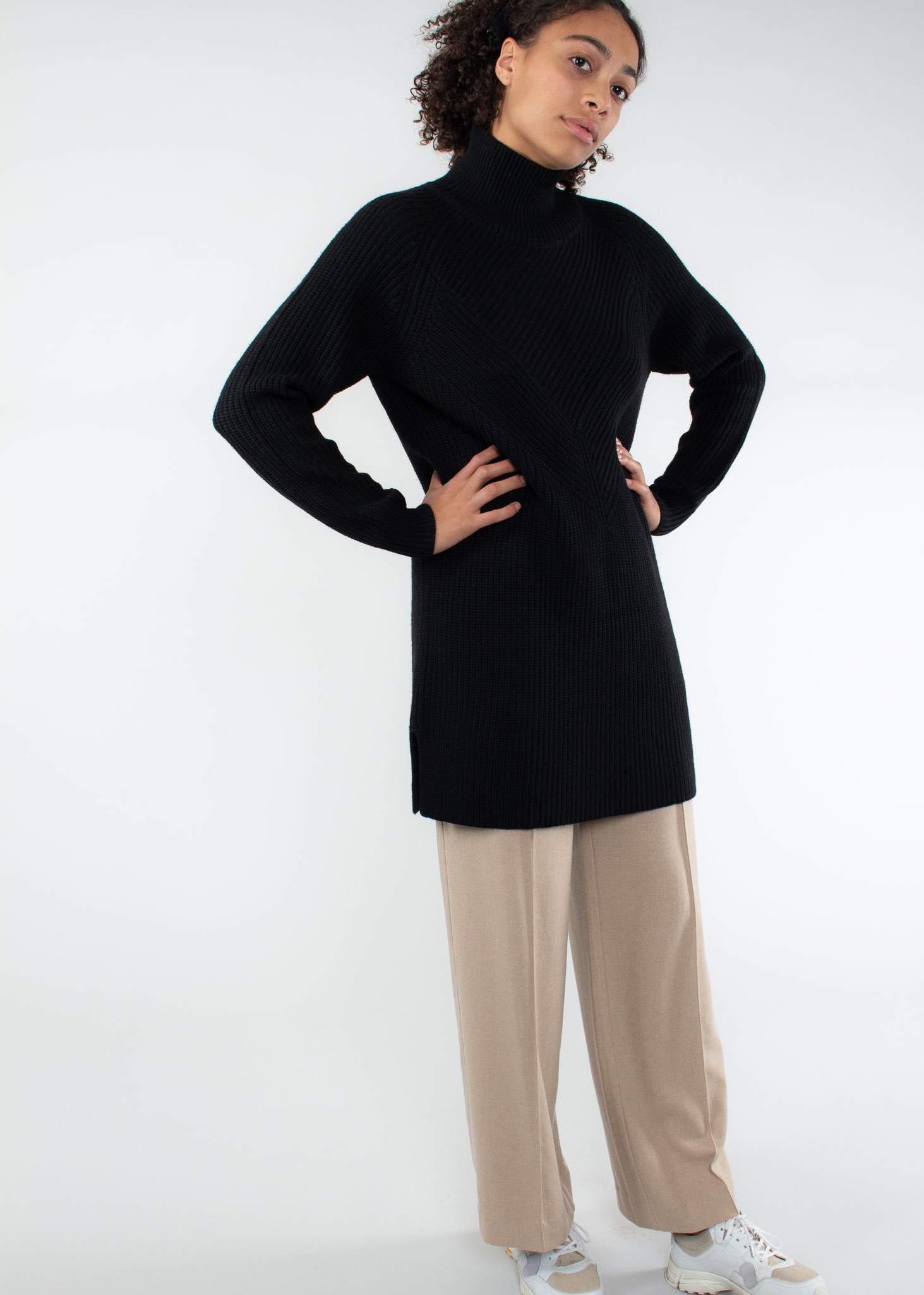 REPEAT 300166 - Robe laine merino