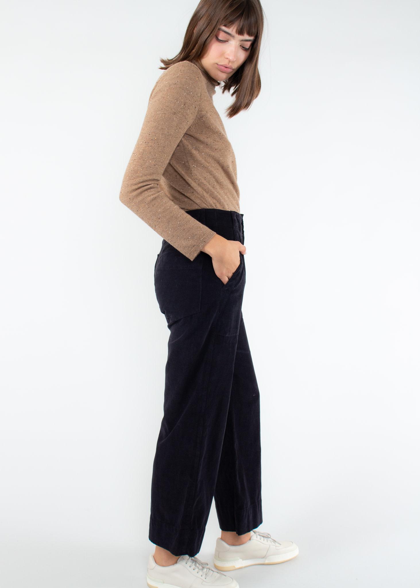 VELVET Vera Corduroy wide leg pant