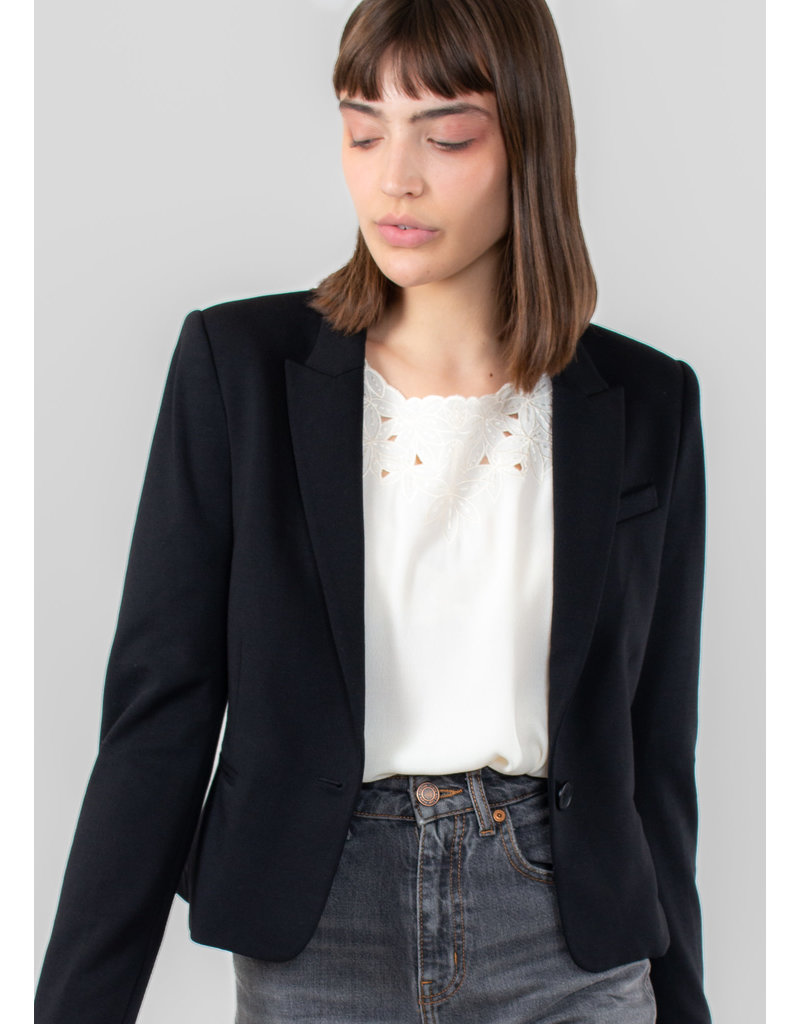 InWear Roseau short blazer black