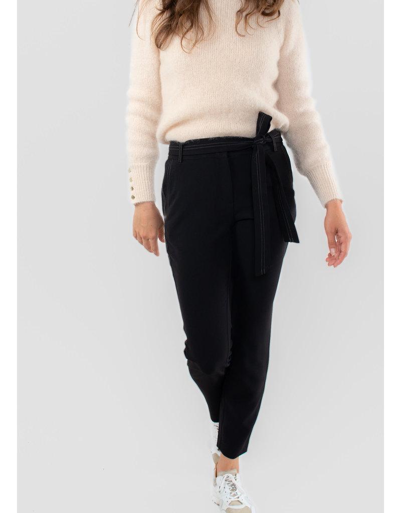 YAYA Pantalon with contrast