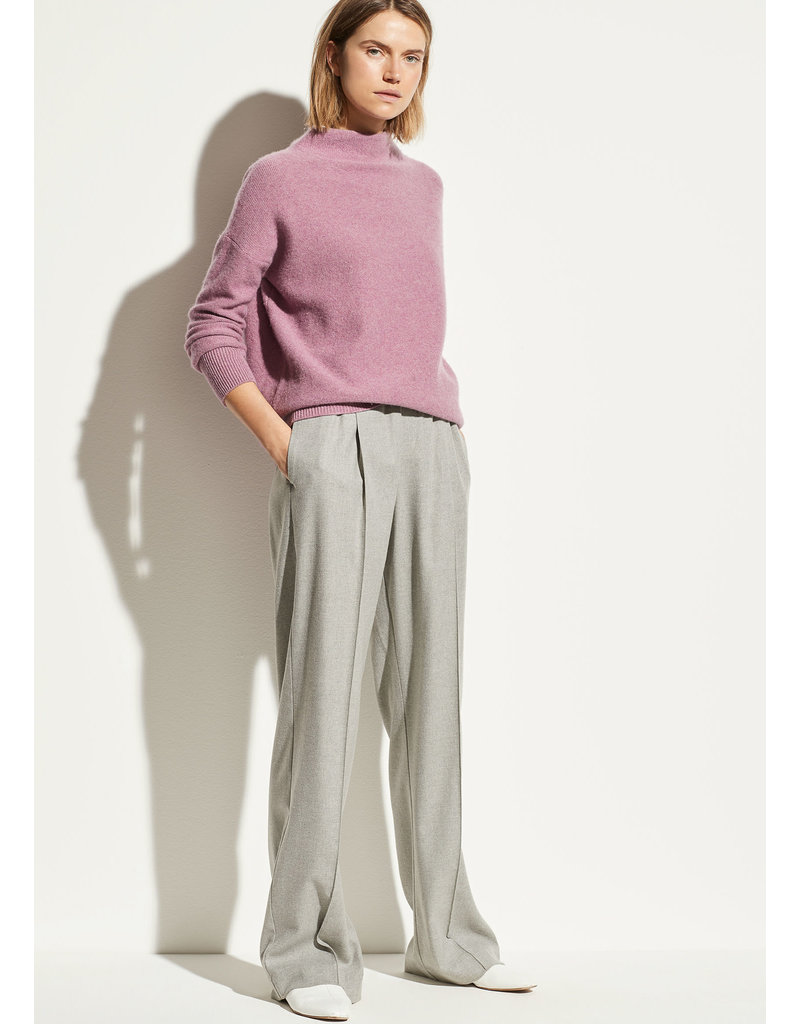 Flannel wide leg grey