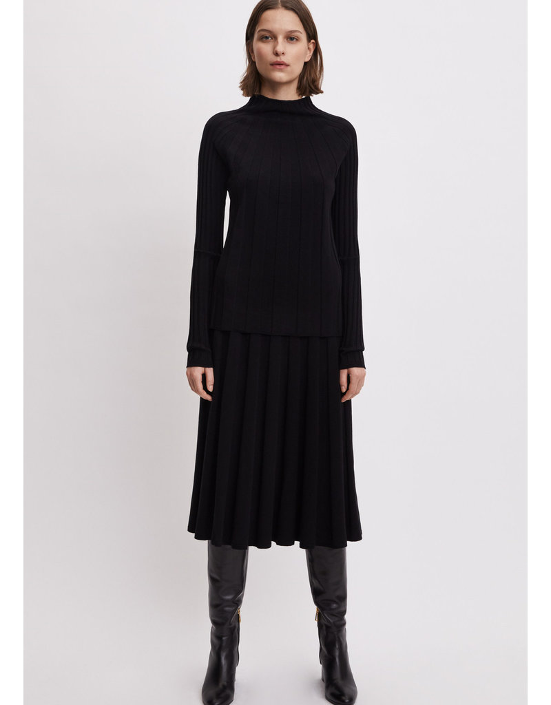 Filippa K Ruby Knitted Skirt black