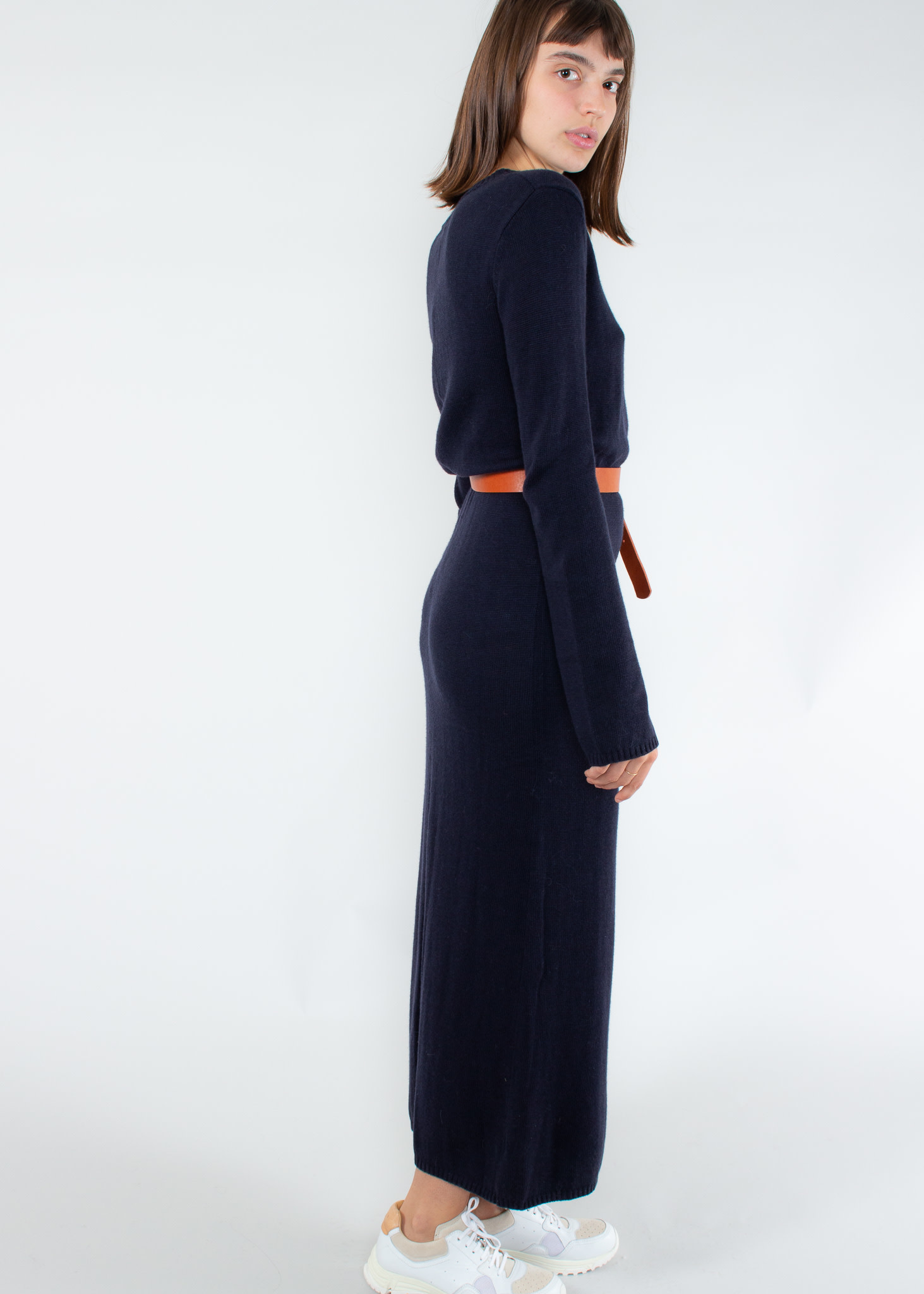 ASSEMBLY LABEL Knitted Dress True Navy