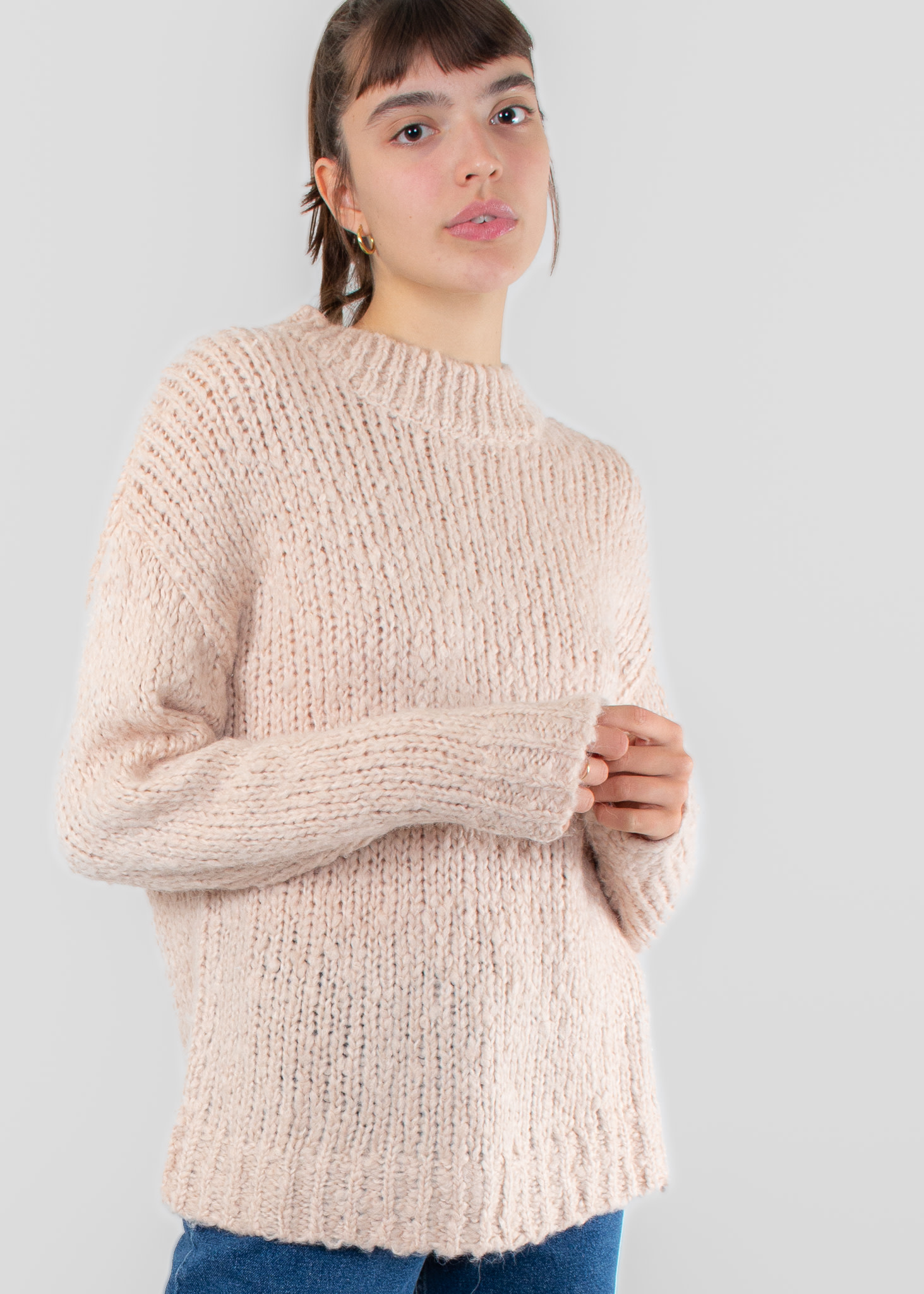 IN WEAR Hannah pullover rose dust