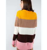 IN WEAR Ivana colour blocking pullover Yellow