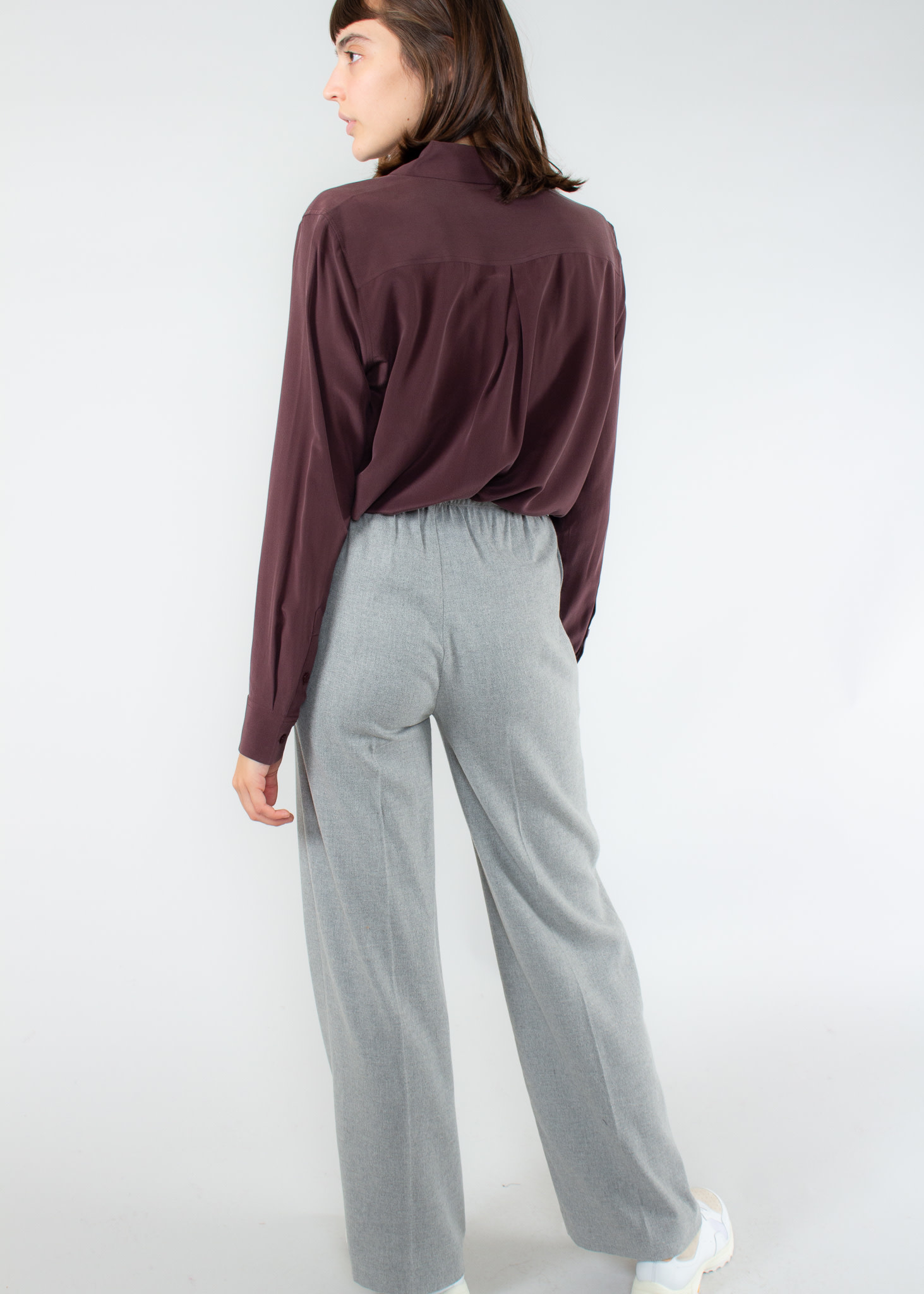 Equipment Blouse Essential aubergine