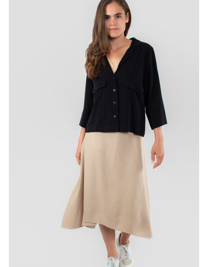 EVE GRAVEL Blouse Panorama black