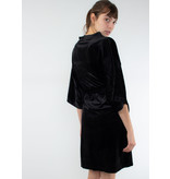KAREN BY SIMONSEN Ocelona kimono dress meteorite black