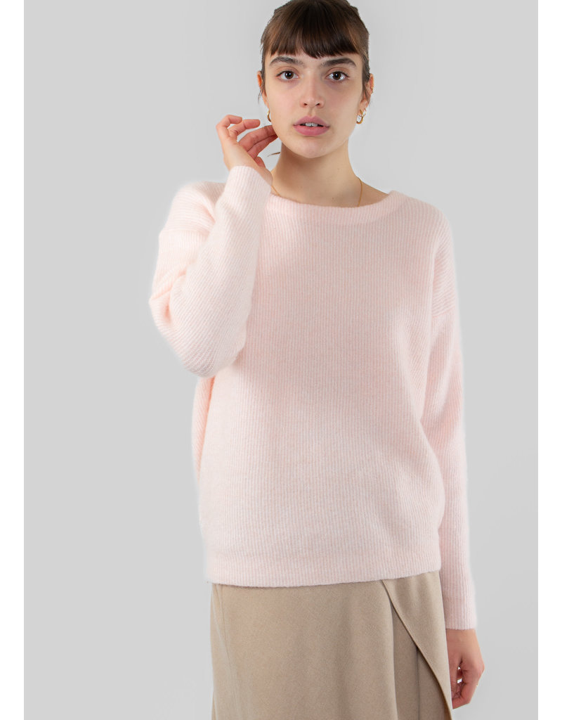 YAYA Rib knitted sweater