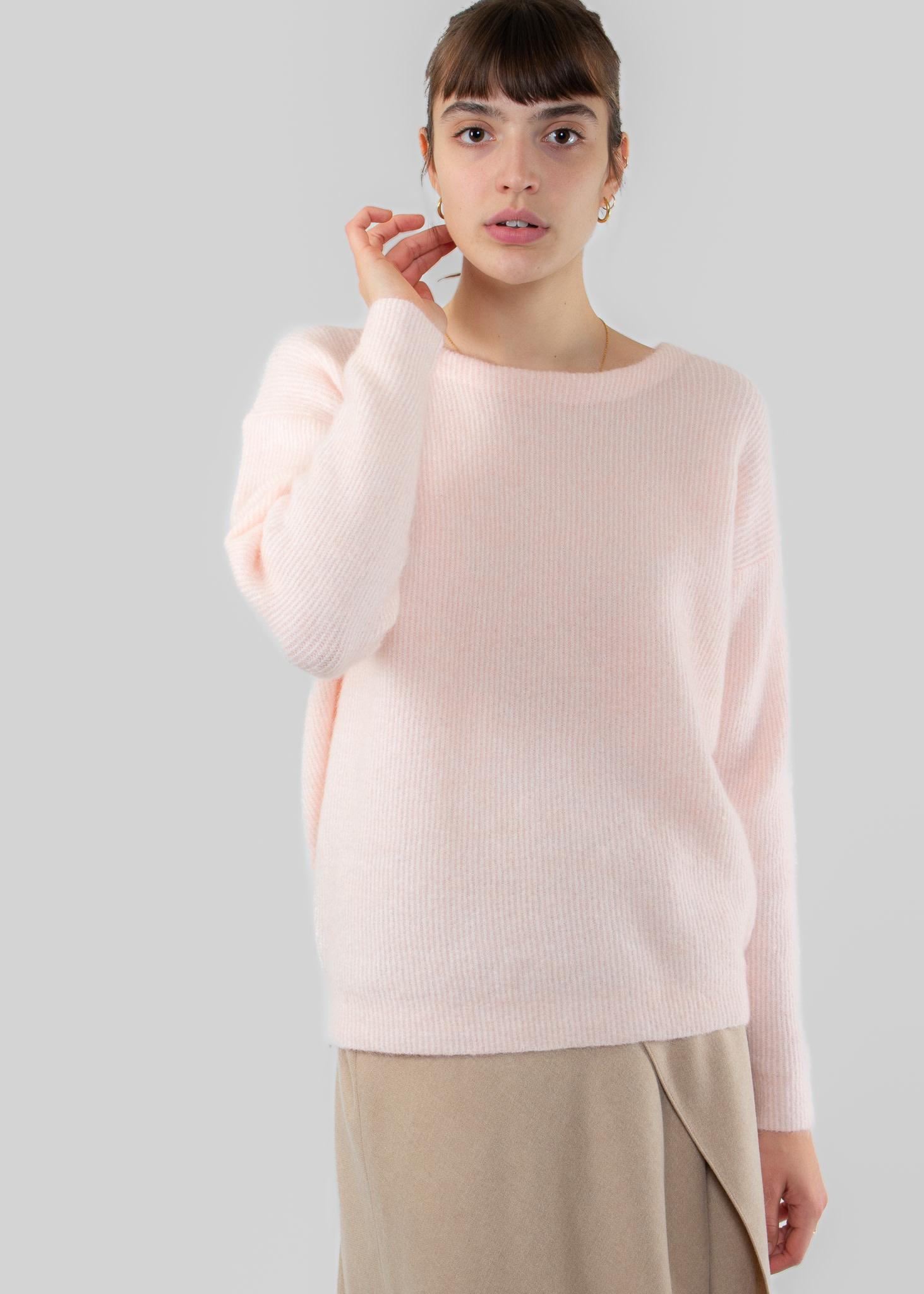 YAYA Rib knitted sweater