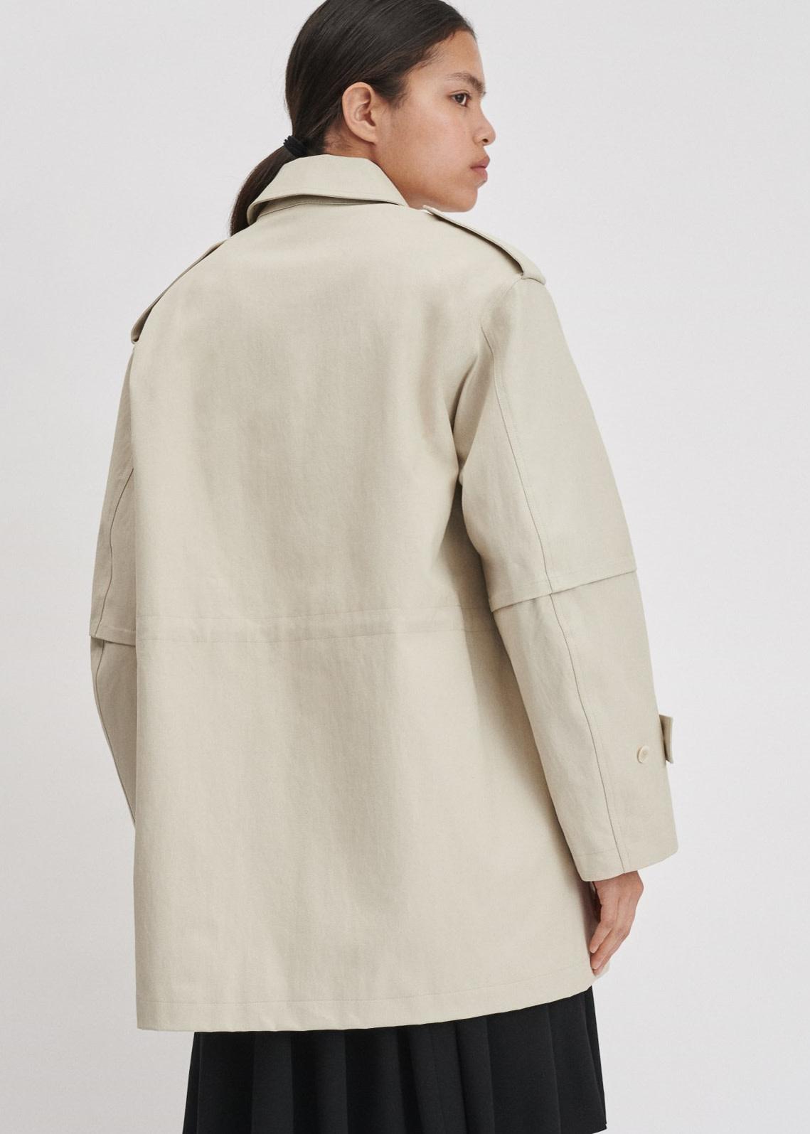 Filippa K Tribeca Coat ivory