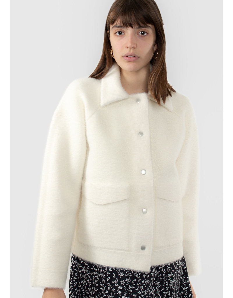 YAYA Short knitted jacket
