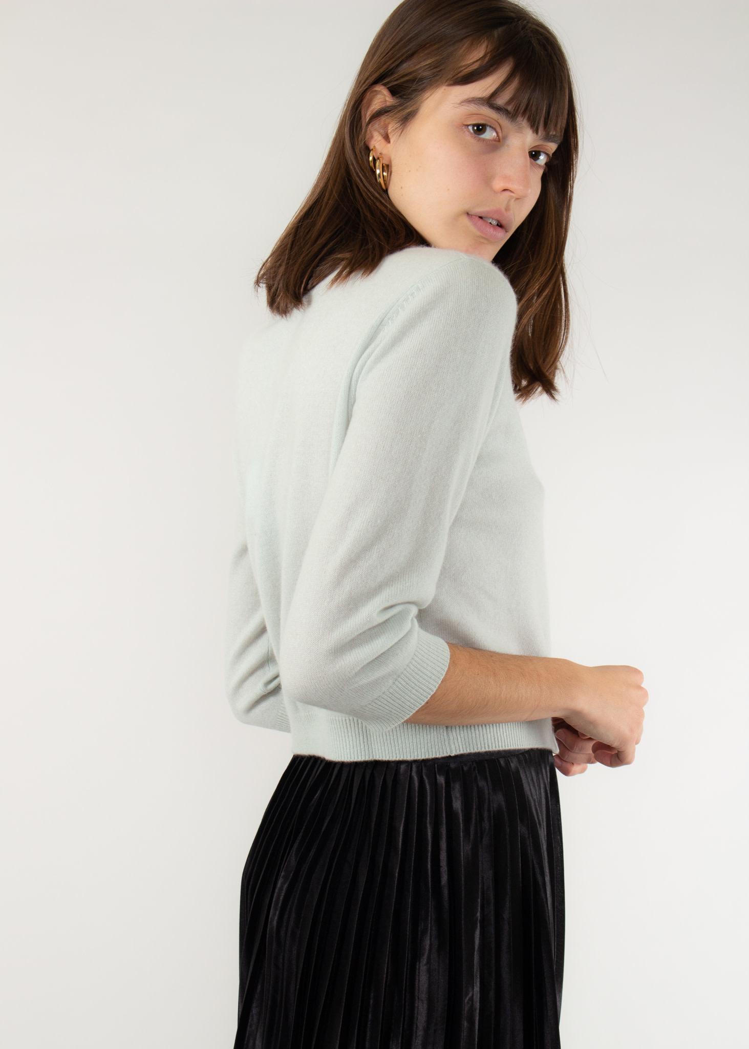 REPEAT Cashmere sweater jade