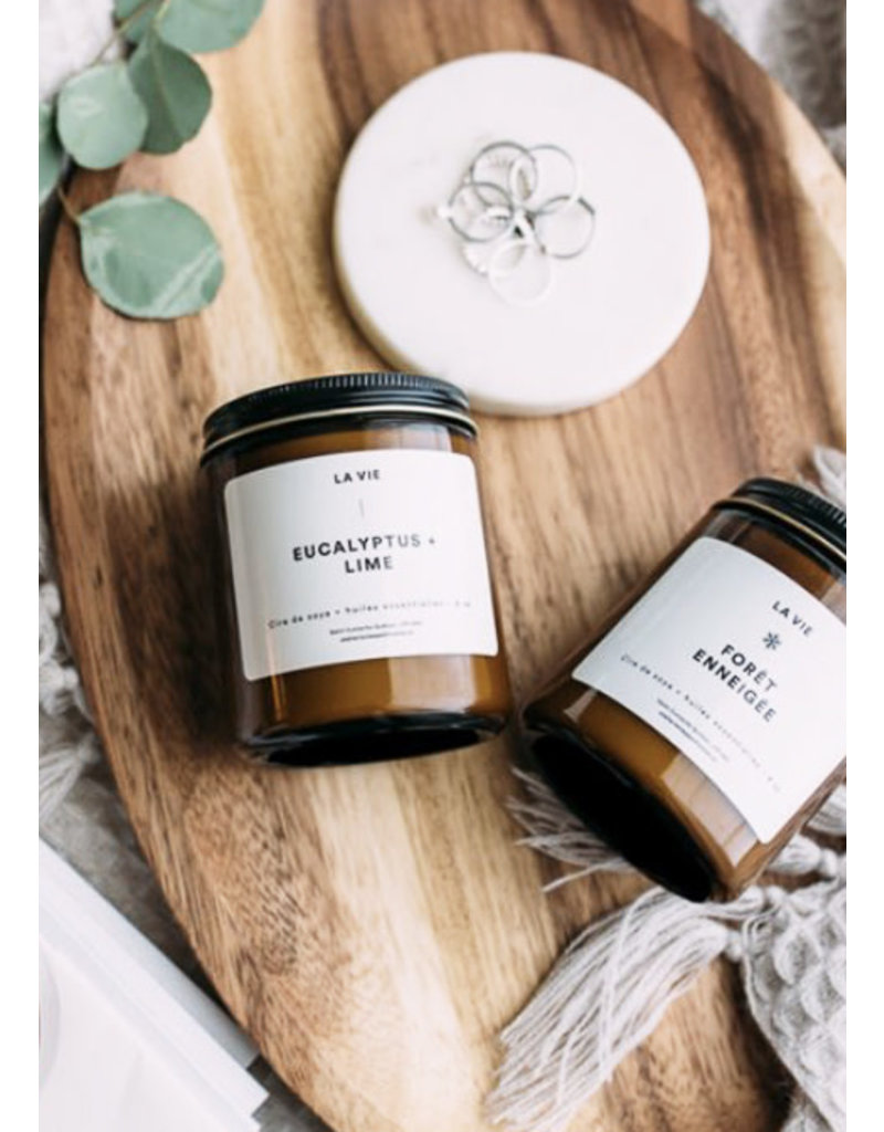 Atelier La Vie Apothicaire Bougie Eucalyptus Lime