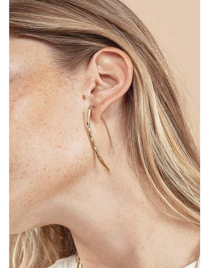 SOKO Twist bow earrings