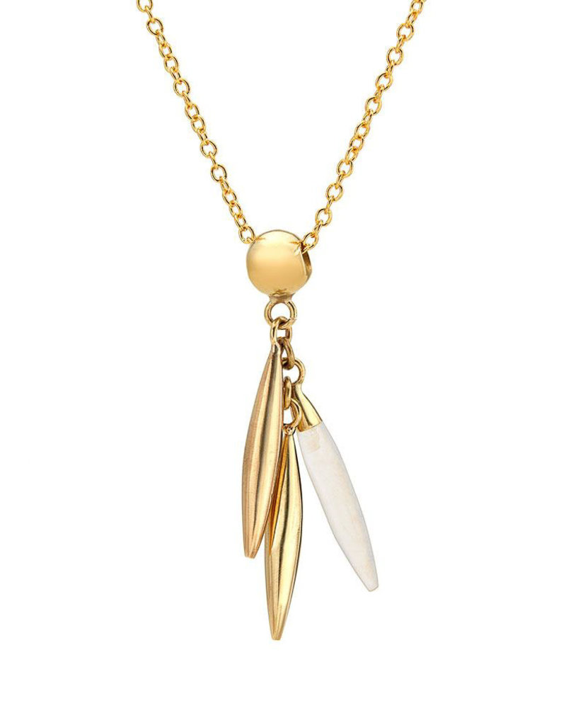 SOKO Mini quill delicate necklace