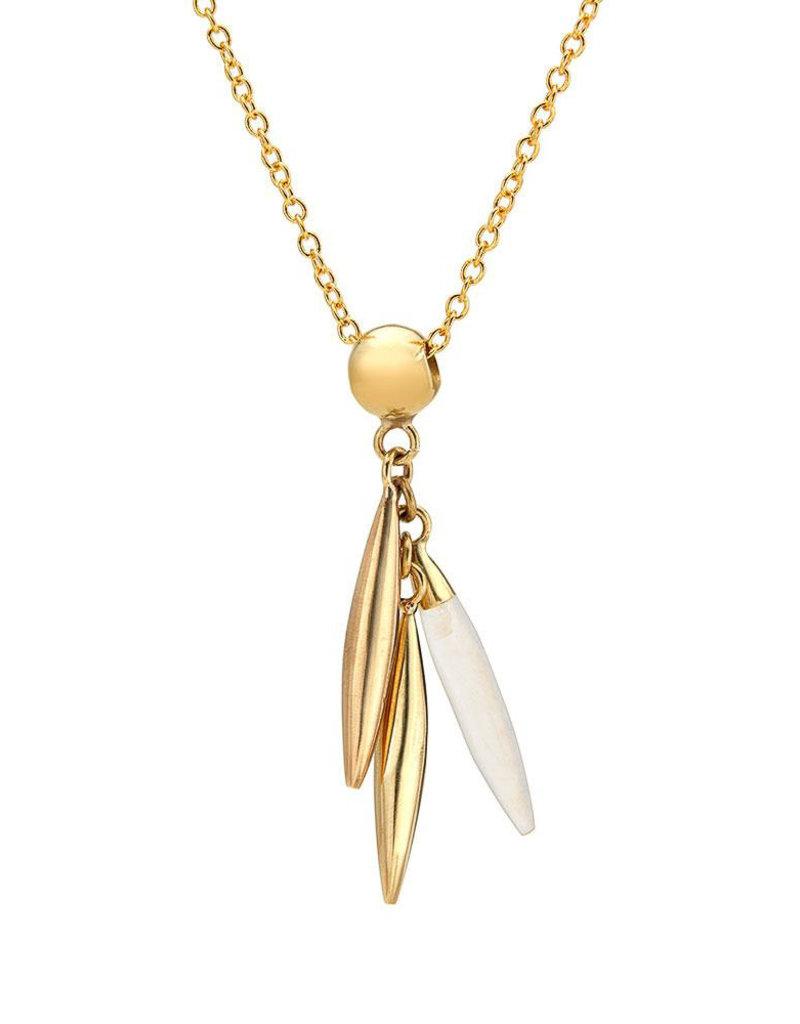 SOKO Mini quill delicate necklace
