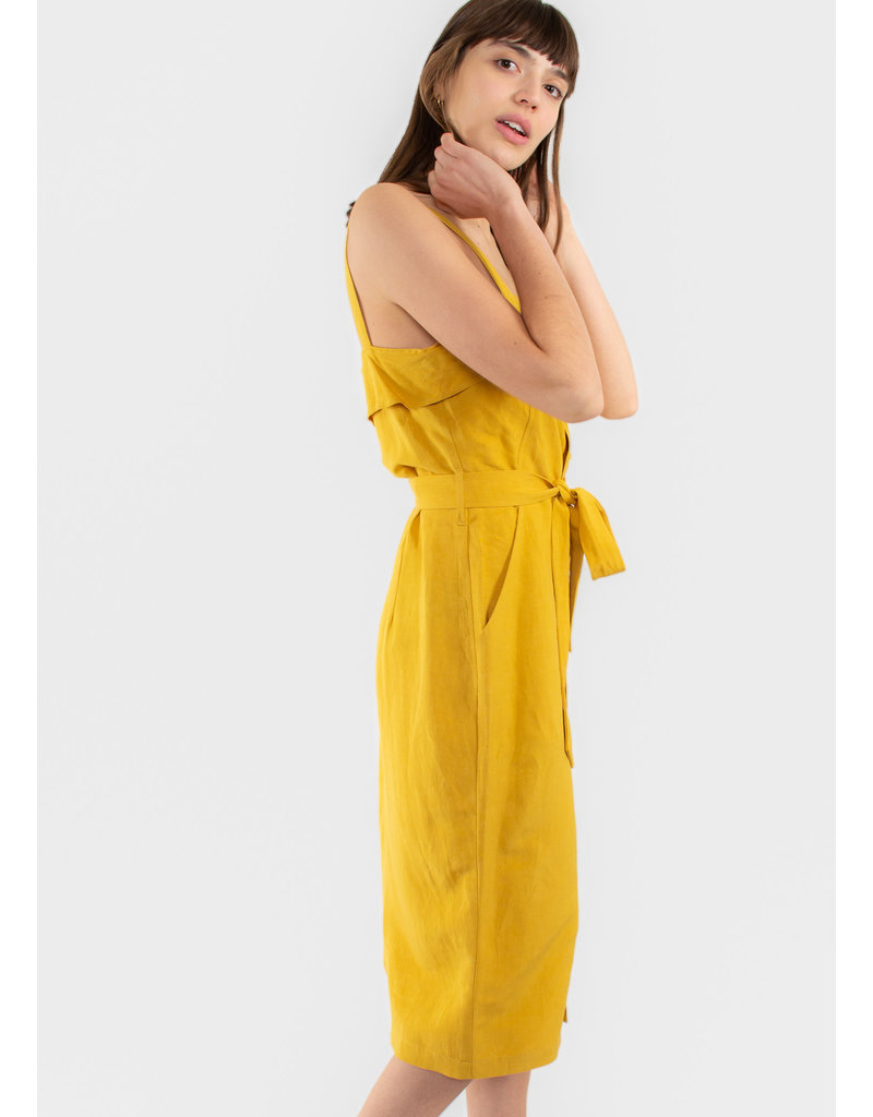 EVE GRAVEL Robe Olympia tournesol