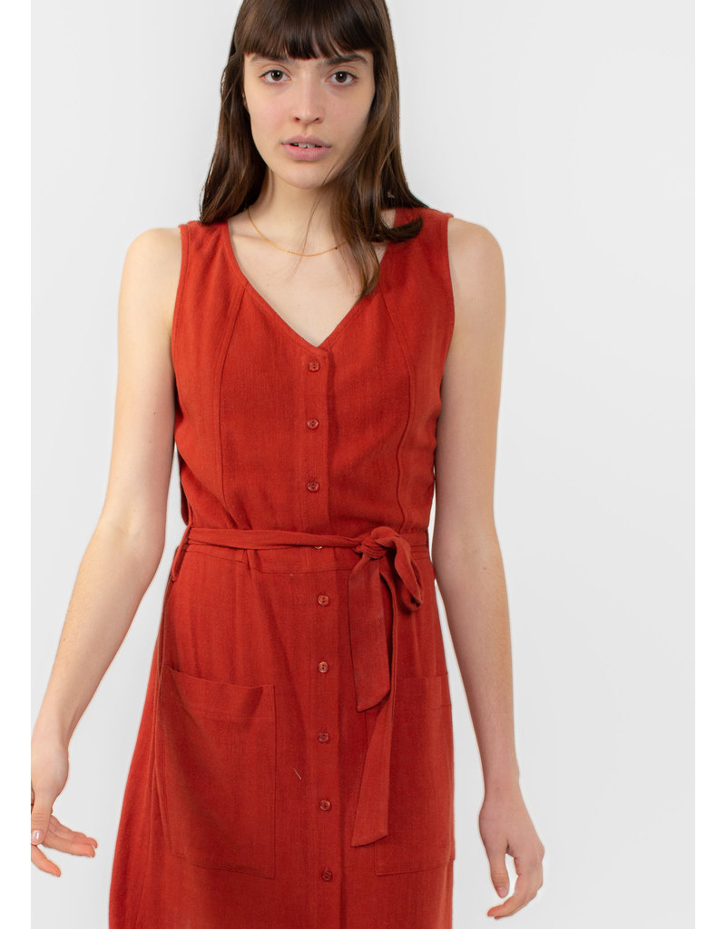 EVE GRAVEL Robe Orchid rubis