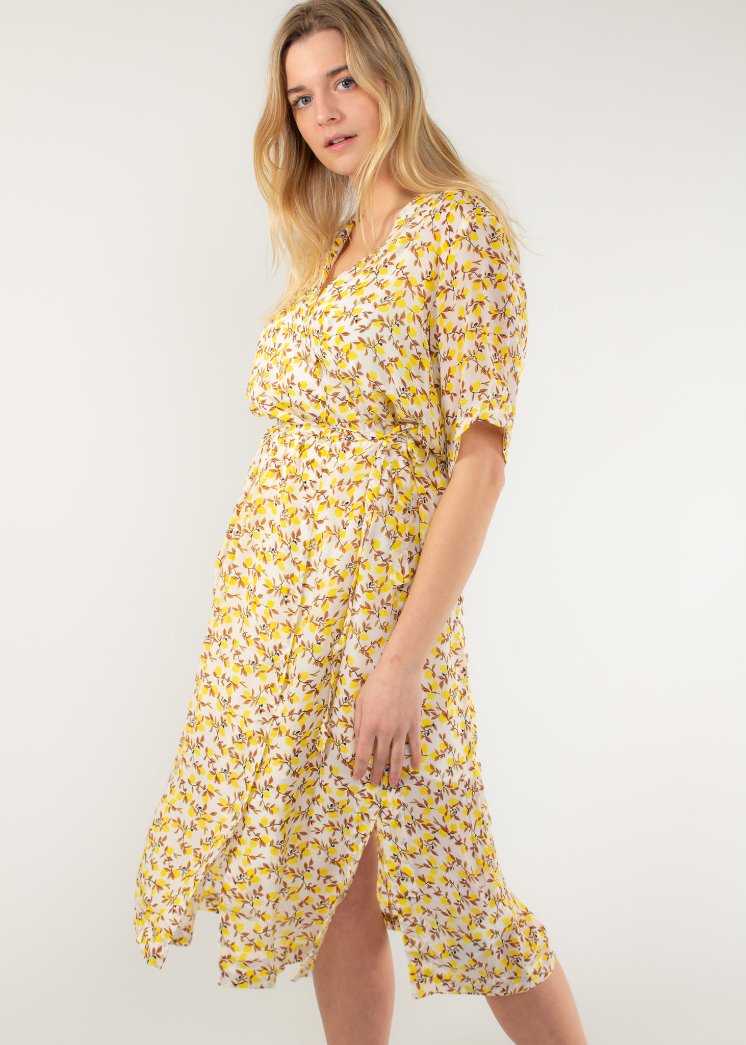 KAREN BY SIMONSEN Citron Long robe