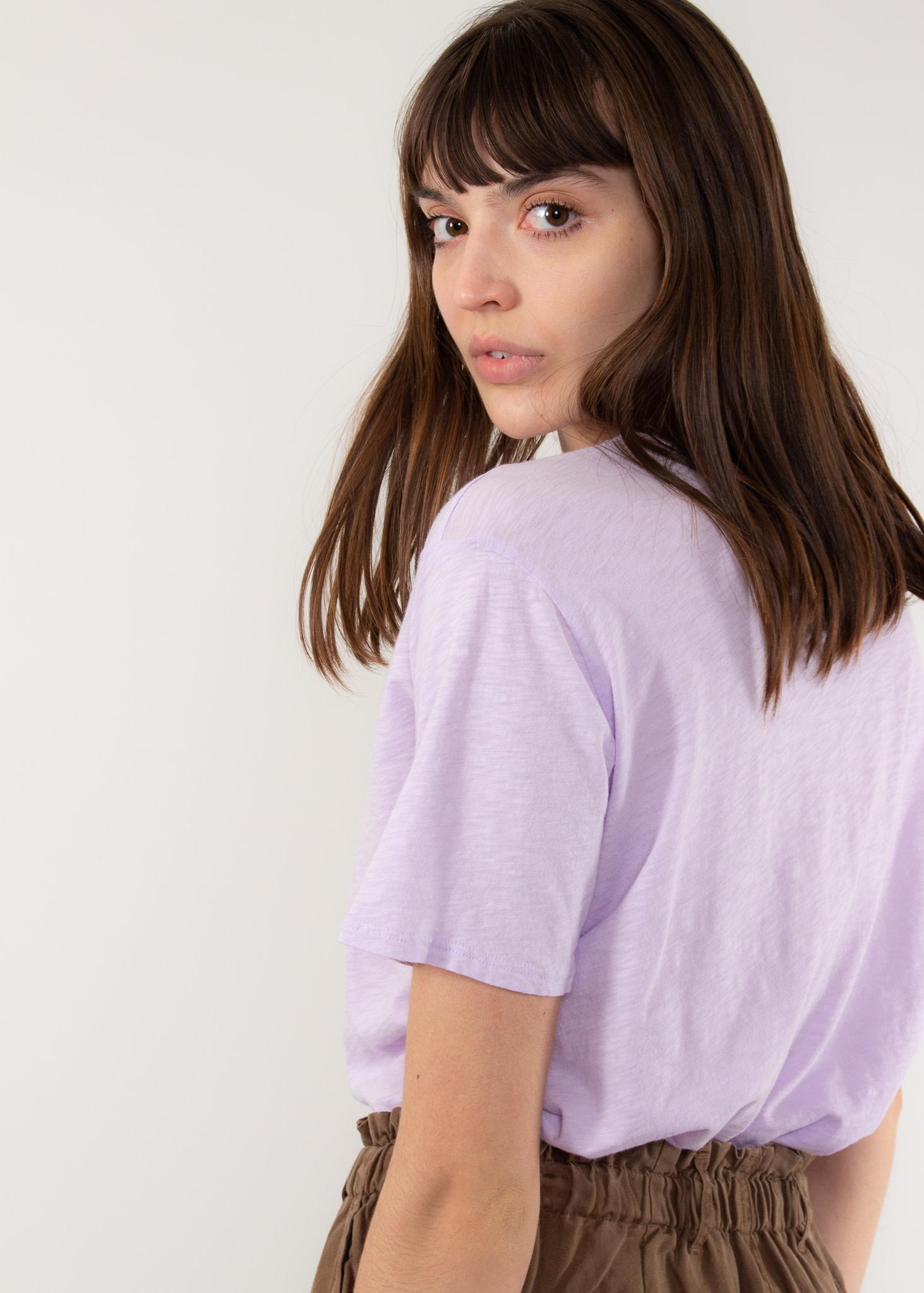 VELVET Tera top lilac