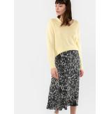 YAYA Printed wrap skirt
