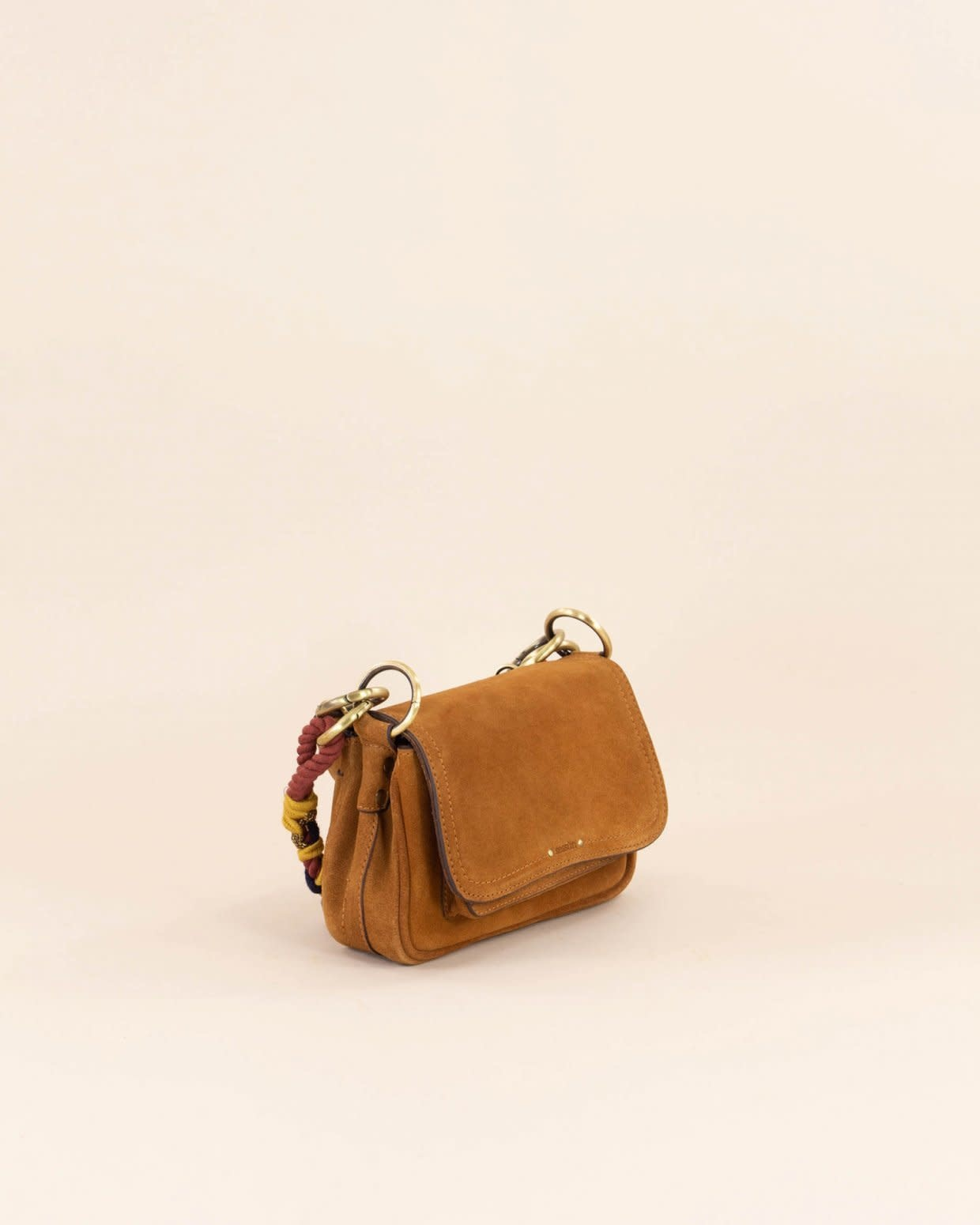 Sessùn Mini tano suede sac