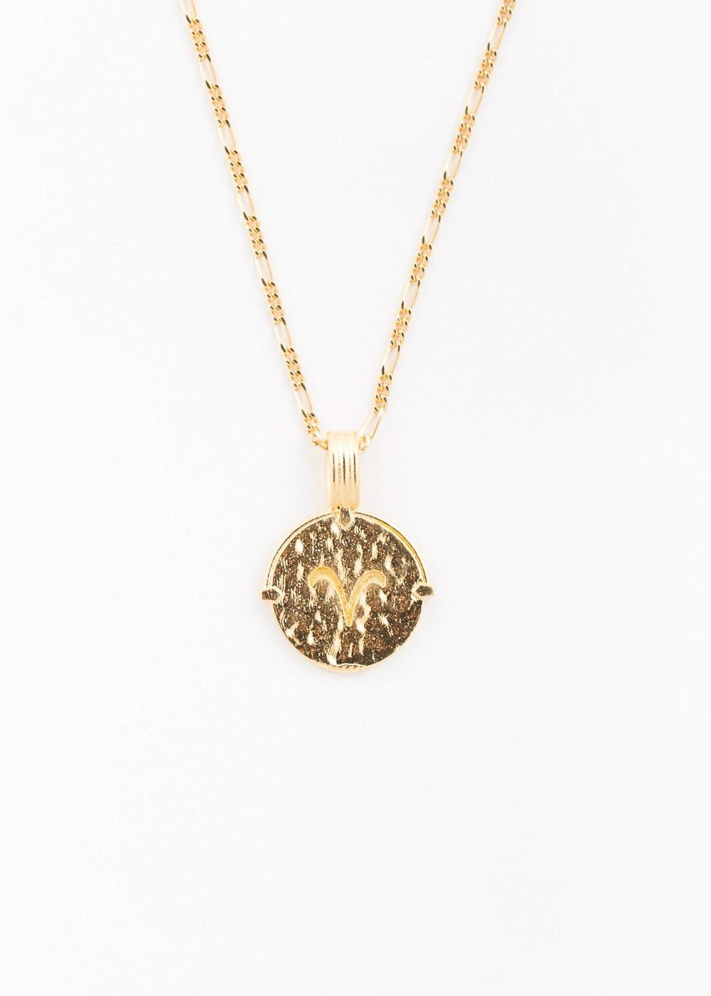 DEUX LIONS Aries necklace