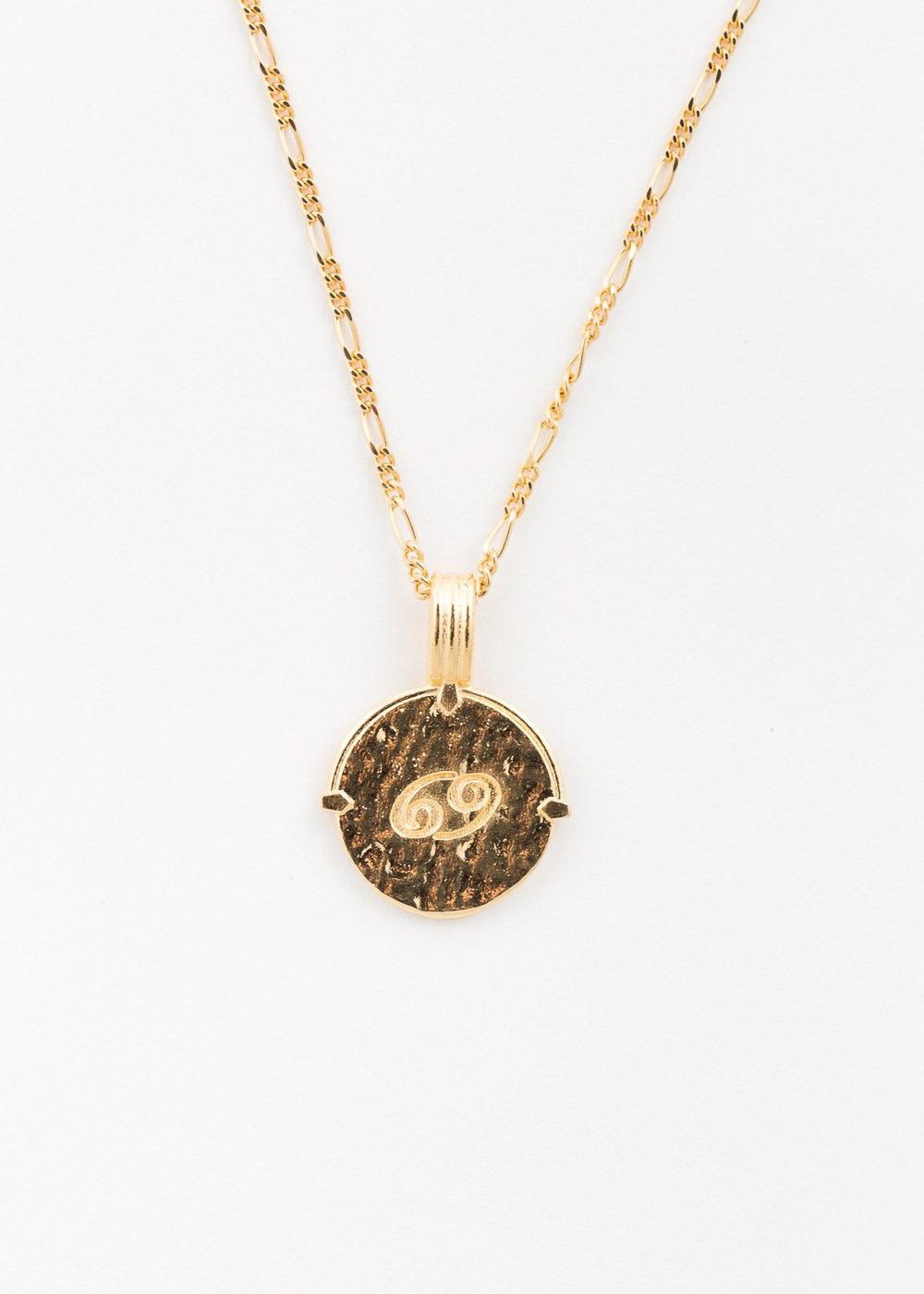 DEUX LIONS Cancer necklace