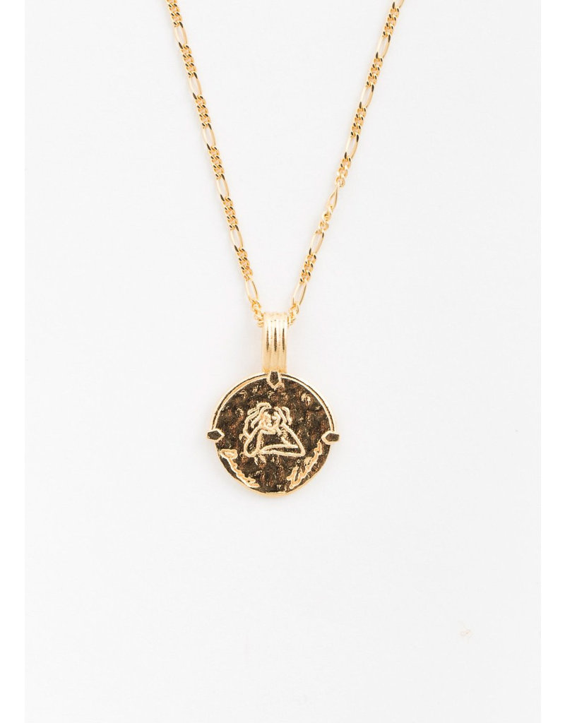 DEUX LIONS Leo necklace