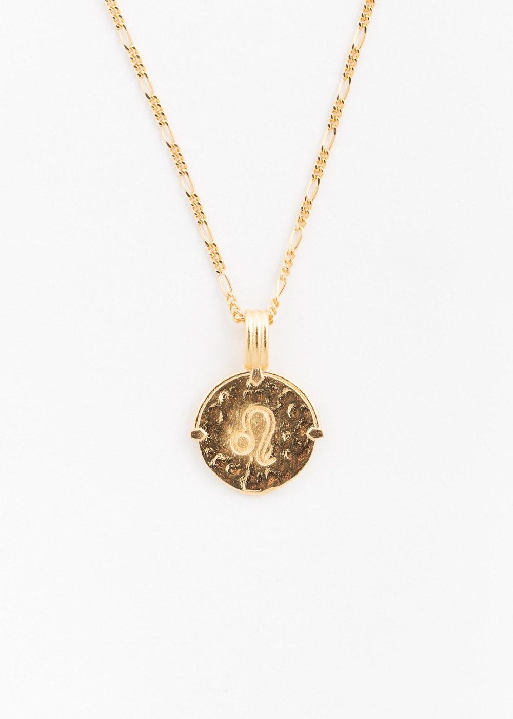 DEUX LIONS Leo necklace