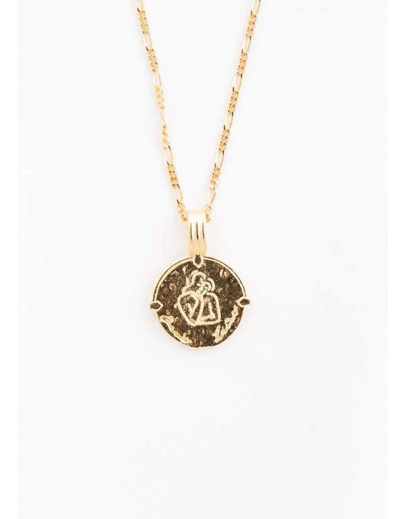 DEUX LIONS Virgo necklace
