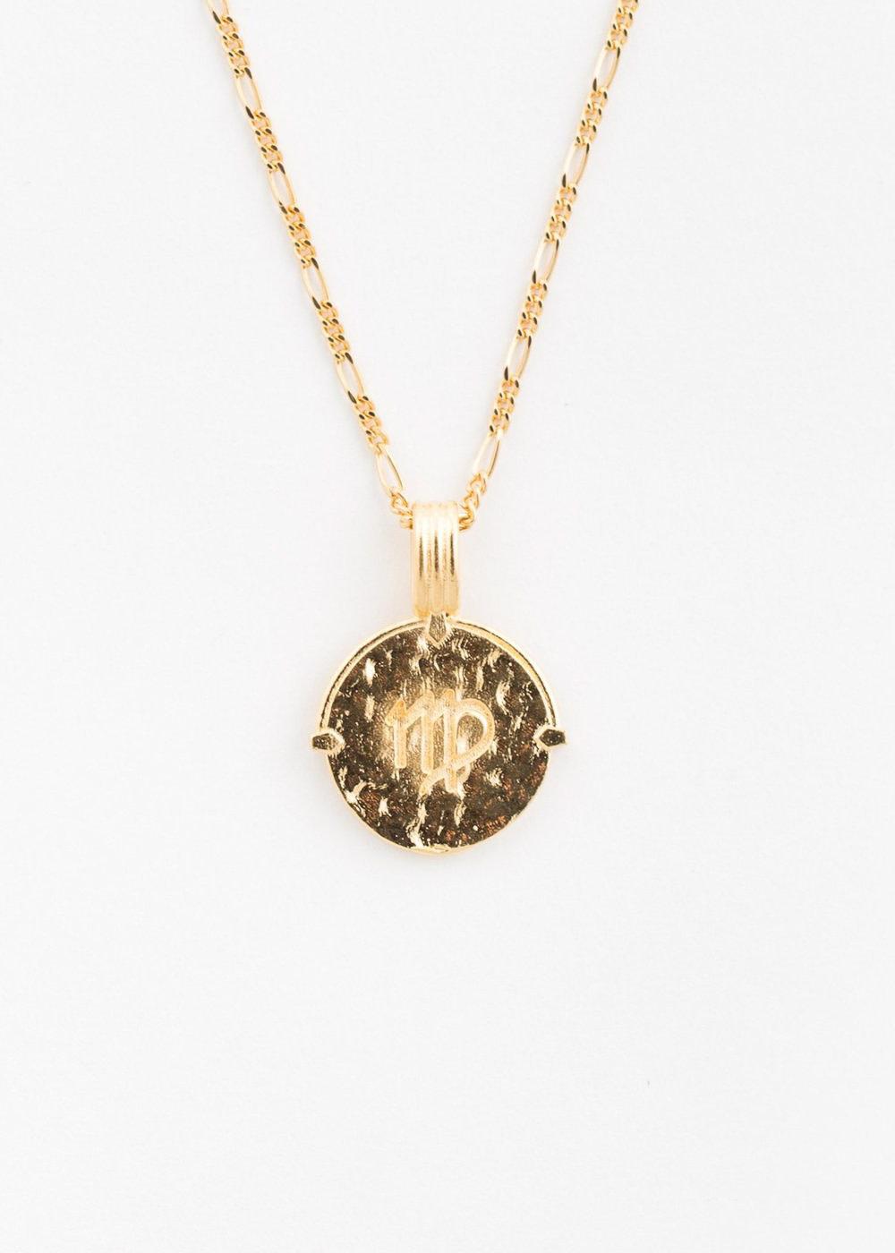 DEUX LIONS Virgo necklace
