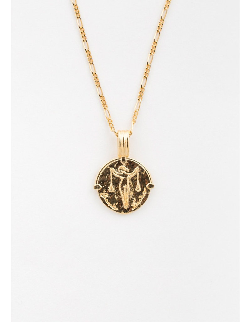 DEUX LIONS Libra necklace