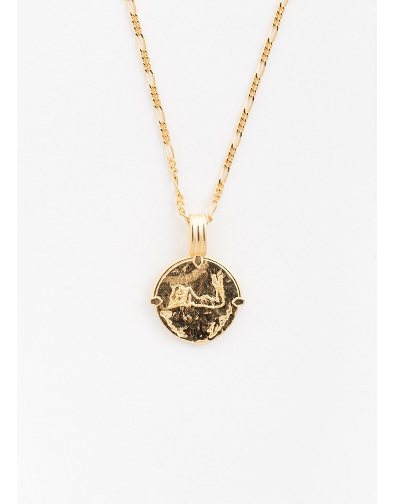 DEUX LIONS Scorpio necklace