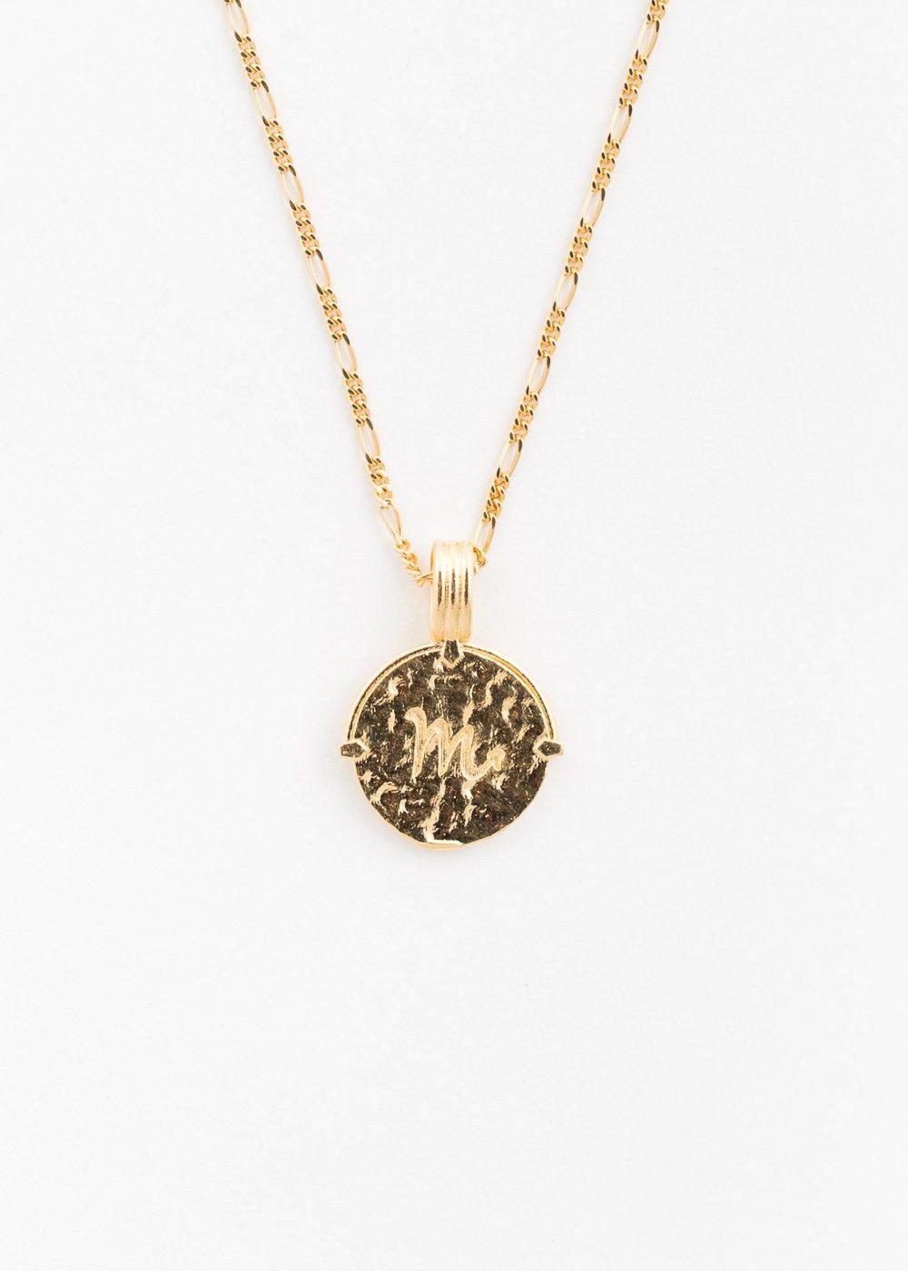 DEUX LIONS Scorpio necklace