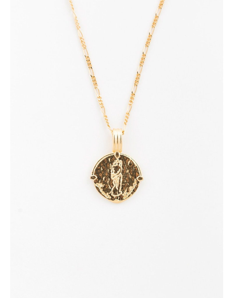 DEUX LIONS Aquarius necklace